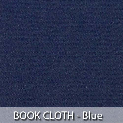picture of blue book cloth
