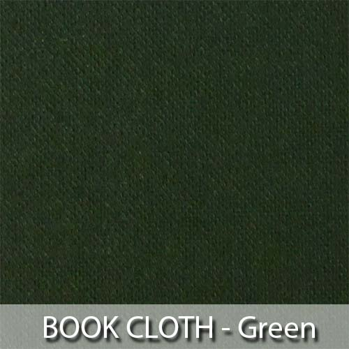 picture of green book cloth