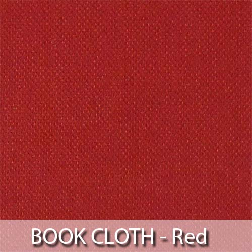 picture of red book cloth