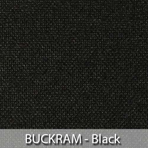 picture of black buckram book cloth
