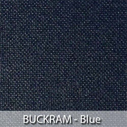 picture of blue buckram book cloth