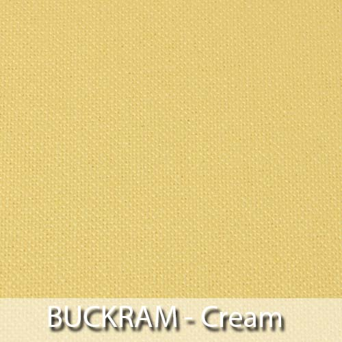 picture of cream buckram book cloth