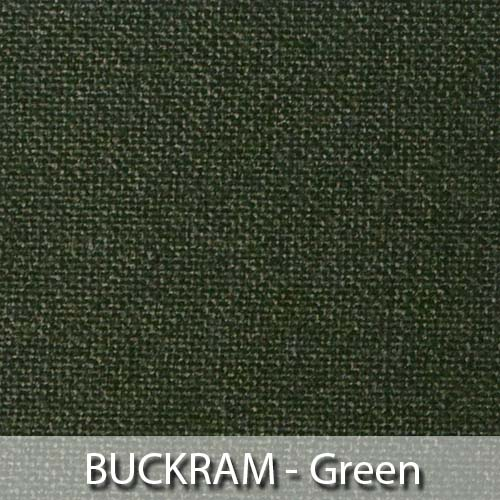 picture of green buckram book cloth