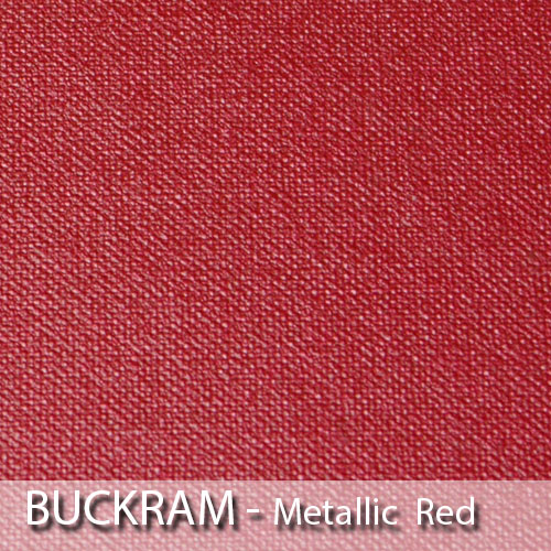 picture of metallic red book cloth