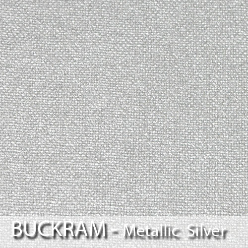 picture of metallic silver book cloth